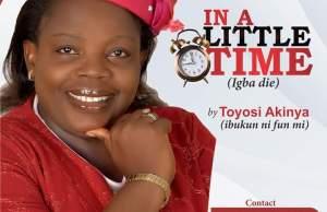Igba Die (In A Little Time) Toyosi Akinya
