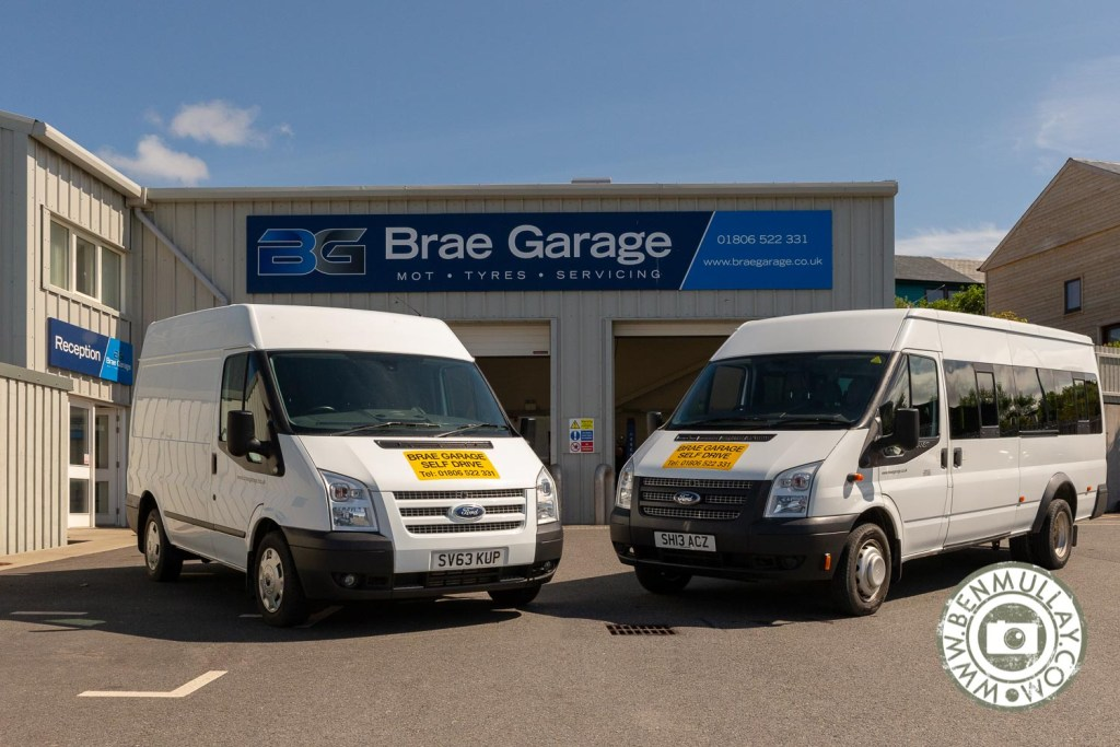 Brae Garage, Shetland vehicle hire for business clients
