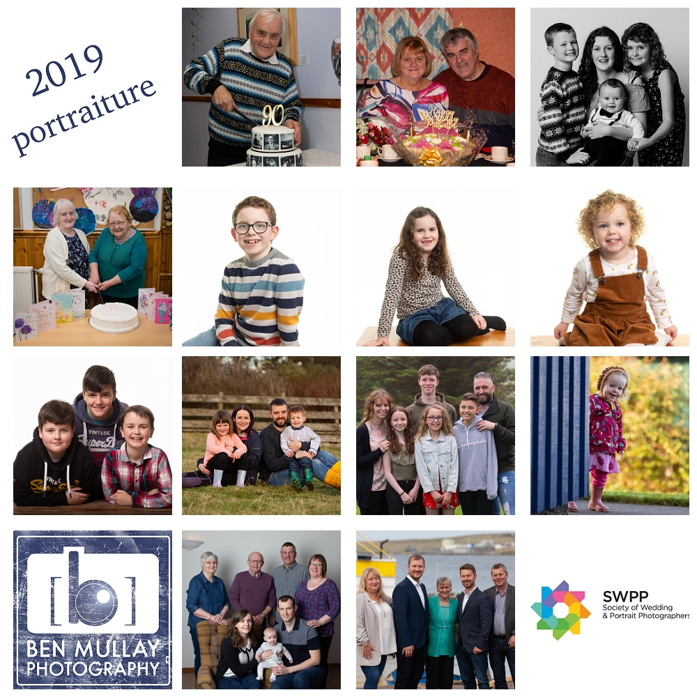 Shetland Portraiture Photography 2019 Year End Review by Ben Mullay LSWPP