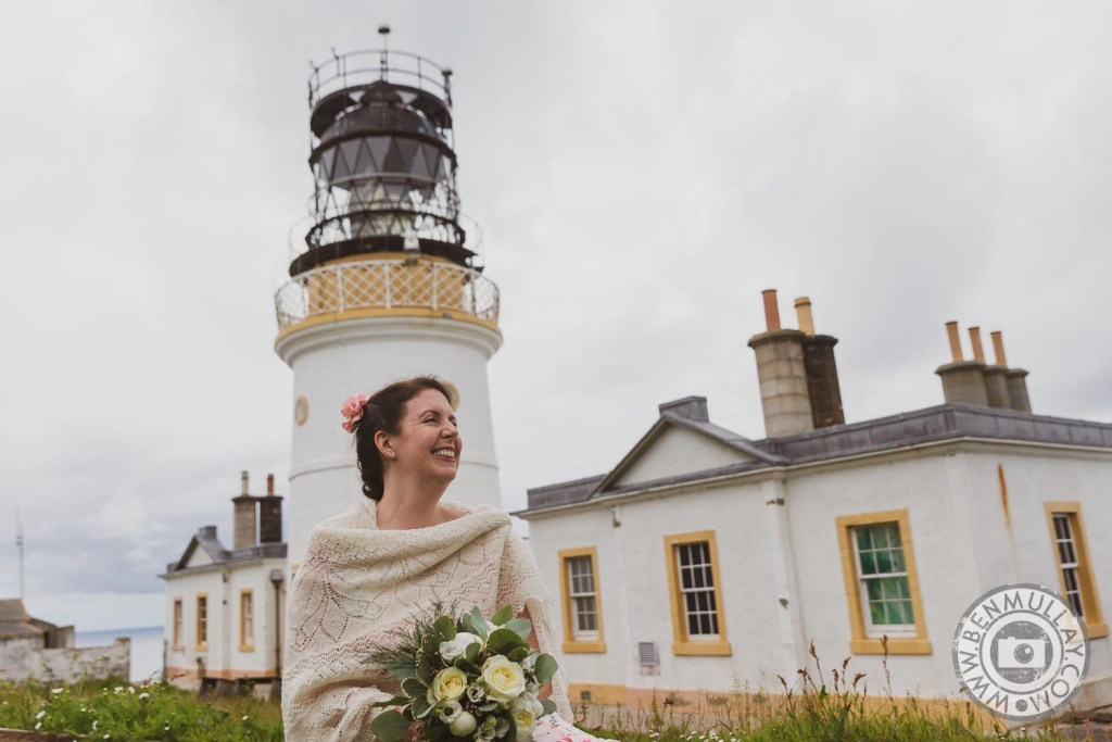 Shetland Wedding of Abigail & Stuart at Sumburgh Head by Ben Mullay Photography