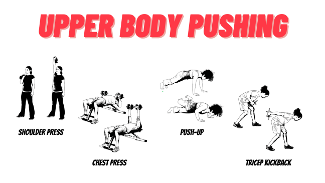 Upper Body Pushing Examples