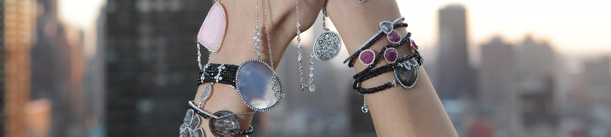 Bennion Jewelers luxury bracelets in downtown Salt Lake City, UT.