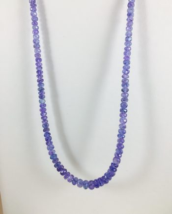 Tanzanite - Beaded Strand