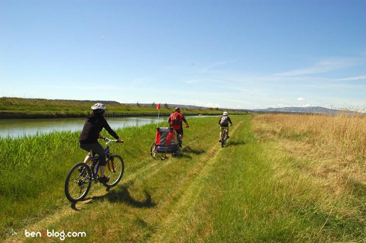 Balade vélo Canal de la Robine