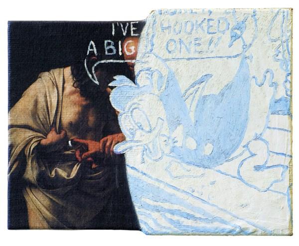 ´Doubting Donald´, 2004, 45 x 60 cm
