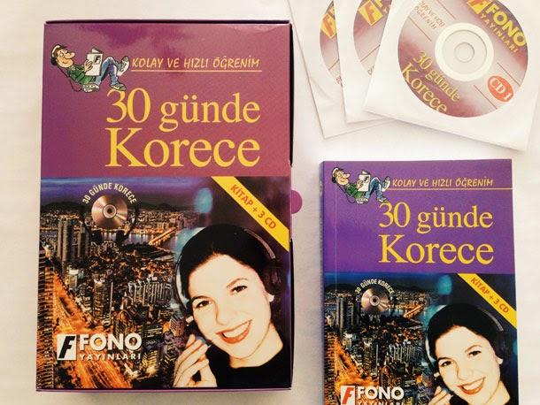 30 Günde Korece Fono