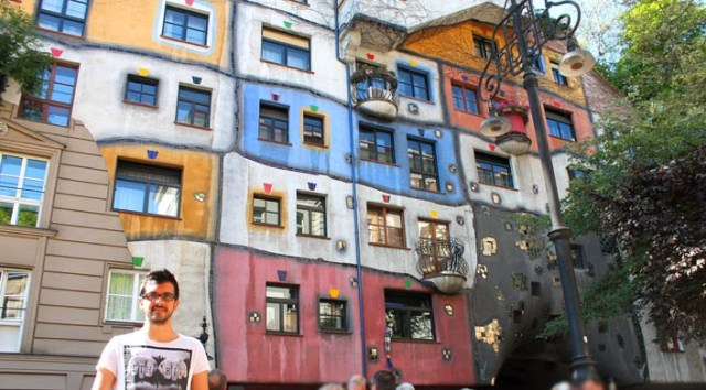 Hundertwasser Evi Viyana