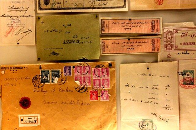 Türkiye İş Bankası Müzesi belgeler