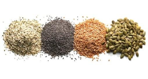 Super seeds: chia, flax and hemp