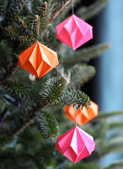 Diamond-Origami-Ornaments