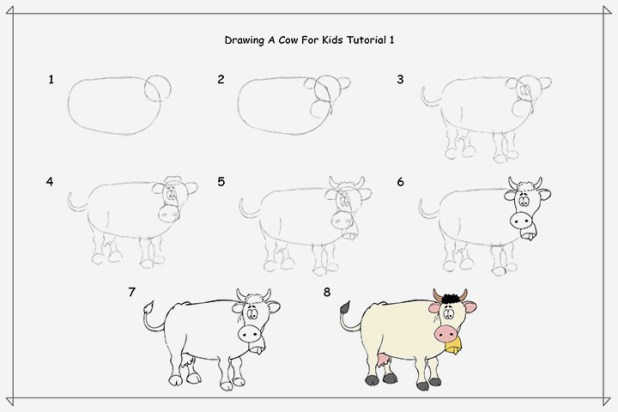 drawing-a-cow-for-kids-tutorial-1