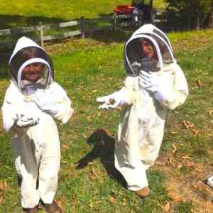 Children's beekeeping suit