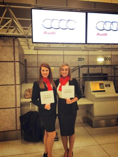 Audi Promotional Staff Bensons Agency