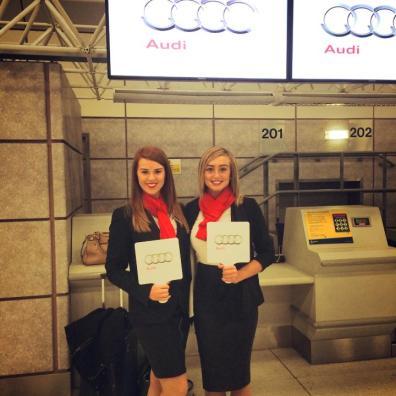 Audi Promotional Staff Bensons Agency