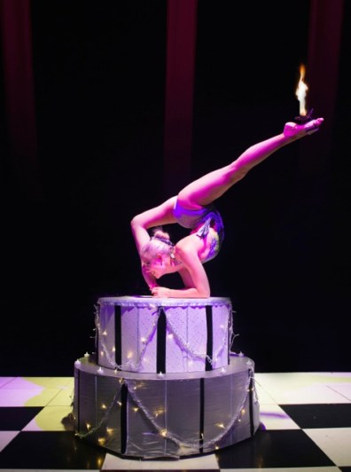 Bensons Agency Contortionist Circus Act