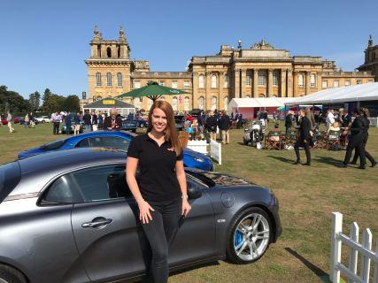 Automotive show promotional staff - Alpine Cars UK