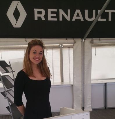 Renault UK hostess