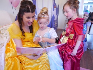 Belle Princess Parties appearance