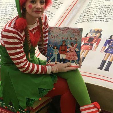 Christmas grotto staff Elf character