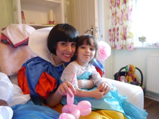 Snow White Princess entertainment