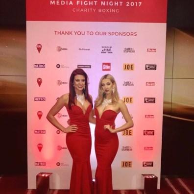 ring girls charity fight night