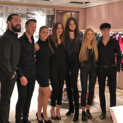 promo models and hospitality staff for store opening