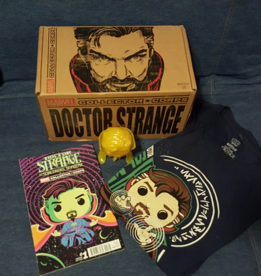 Marvel Collector Corps Doctor Strange Box Giveaway ...