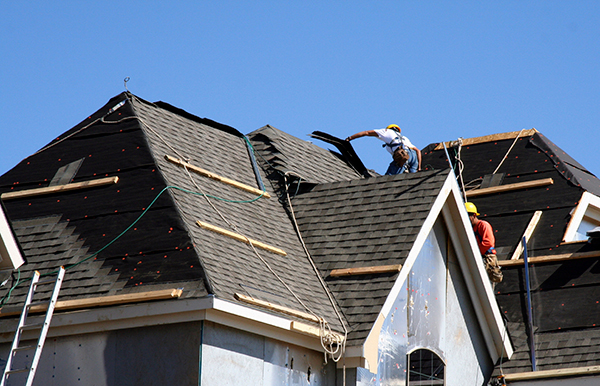 Bay Area Roofing Contractor's Residential Re-Roofing Job