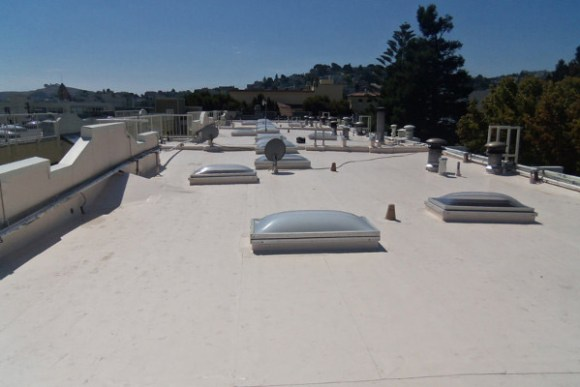 oakland commercial roofing with roof hatches
