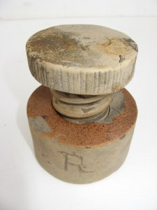 Burton-in-pottery mould