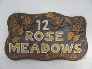 Ceramic House Signs