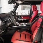 Mercedes Benz G Wagon 2020 Red Interior