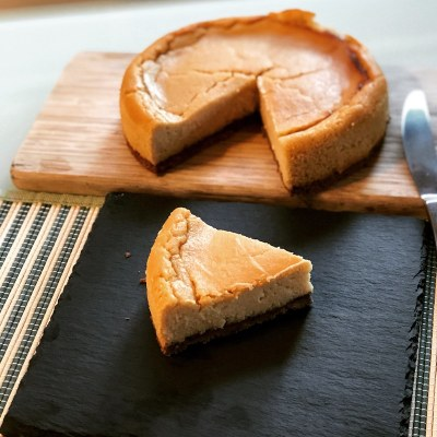 Cheese-less cheesecake