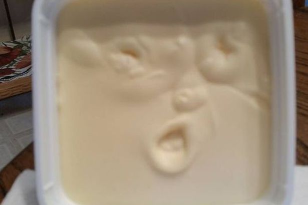 Butter me up: Can't believe it's not Donald Trump in a new carton of spread (Jan Castellano)