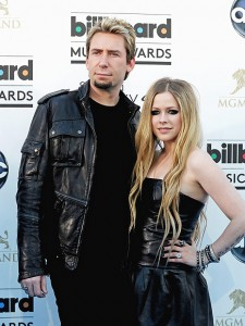 Chad Kroeger & Avril Lavigne in happier times