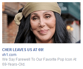 The Facebook ad that caused the angina
