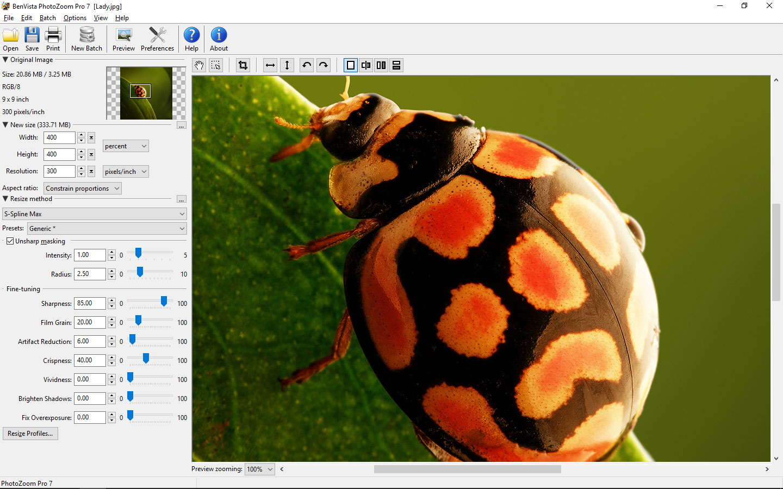 PhotoZoom Pro 7 for Mac 7.0.2 序号版 - Mac上强大的图片无损放大工具
