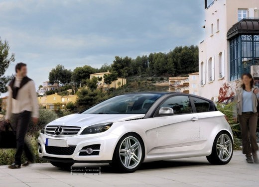 Nuova Mercedes ClasseA 2011 big Mercedes Pins Hopes On Smaller Cars To Push Sales