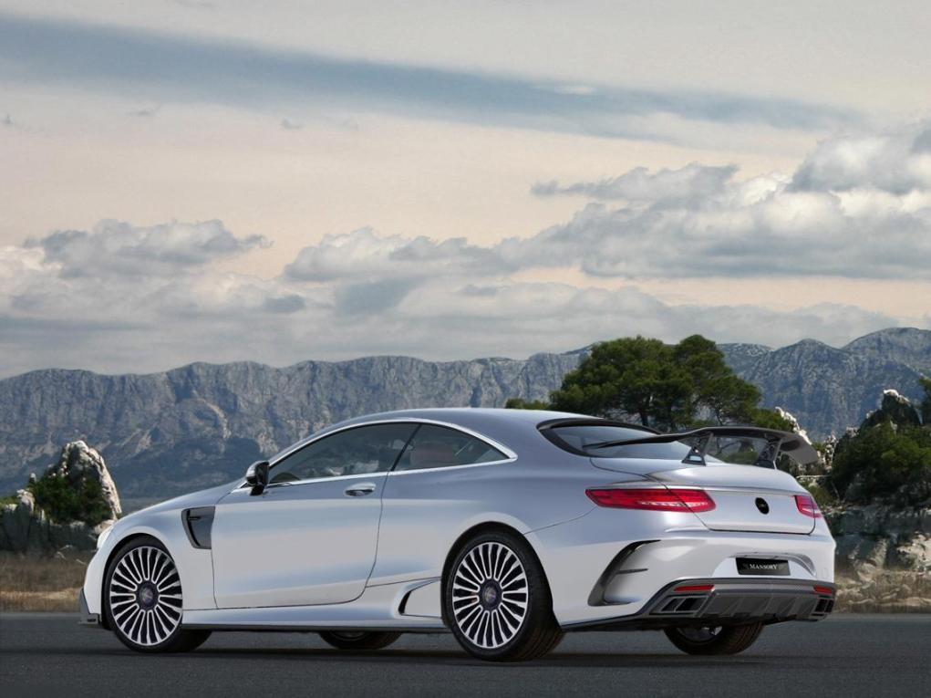 Mercedes Benz S63 AMG Coupe Tuned By Mansory Again