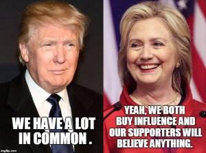 trump - clinton - third party