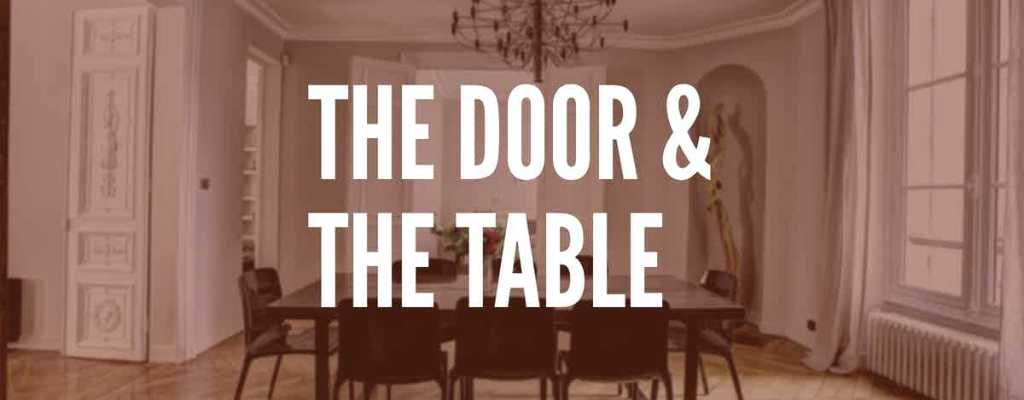 The Door and The Table