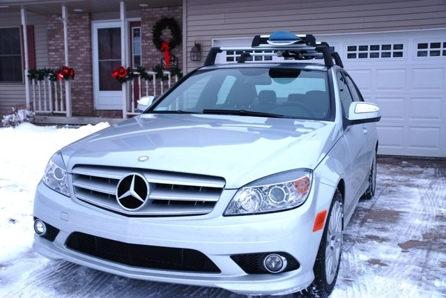 ski roof rack not available mercedes