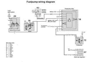 83 500SL Euro  No voltage to fuel pump  MercedesBenz Forum