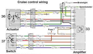 Cruise Control Switch  Blue Wire  MercedesBenz Forum