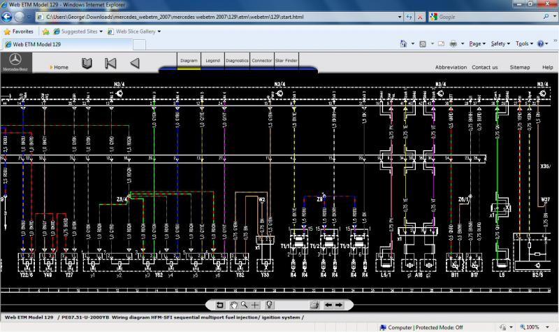 95 Sl 320 Wiring Diagram