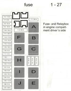 R230 Fuse and Relay Diagrams  MercedesBenz Forum