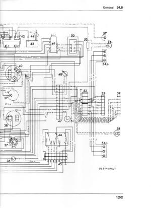 Wiring diagram or color breakdown 1970 406  MercedesBenz Forum