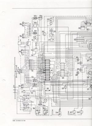 Wiring diagram or color breakdown 1970 406  MercedesBenz Forum