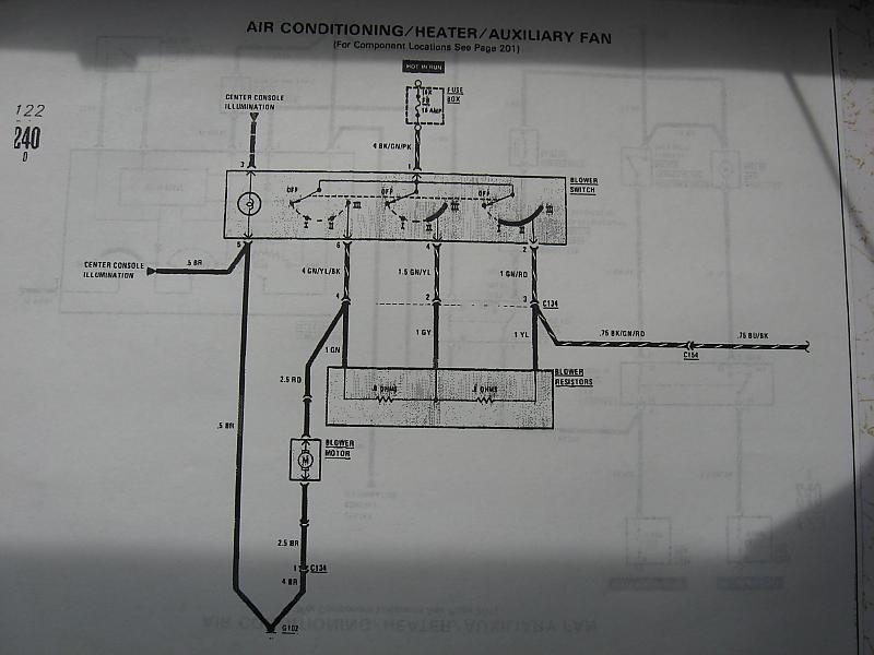 Mercedes 240d Airconditioning System