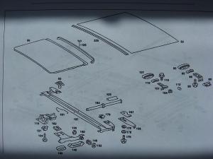 sunroof parts diagram?  MercedesBenz Forum